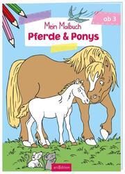 Mein Malbuch - Pferde & Ponys - Cover