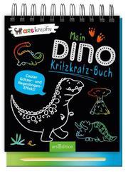 Mein Dino-Kritzkratz-Buch - Cover