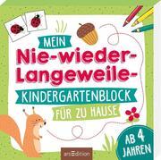 Mein Nie-wieder-Langweile-Kindergartenblock für zu Hause