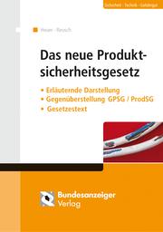 Das neue Produktsicherheitsgesetz - Cover