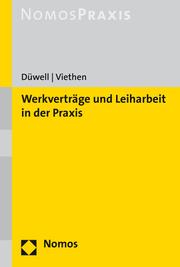 Werkverträge und Leiharbeit in der Praxis - Cover