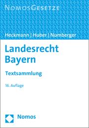 Landesrecht Bayern - Cover