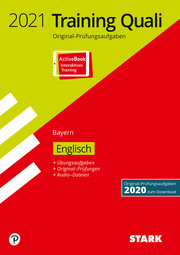 STARK Training Abschlussprüfung Quali Mittelschule 2021 - Englisch 9. Klasse - Bayern - Cover