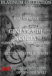 Ginevra di Scozia (Ginevra von Schottland) - Cover