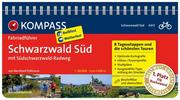 KOMPASS Fahrradführer Schwarzwald Süd mit Südschwarzwald Radweg - Cover