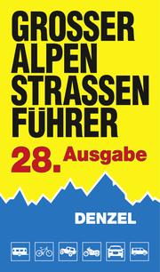 Großer Alpenstraßenführer - Cover