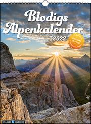Blodigs Alpenkalender 2022 - Cover