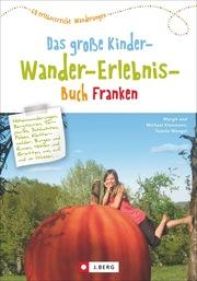Das große Kinder-Wander-Erlebnis-Buch Franken - Cover