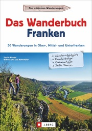 Das Wanderbuch Franken - Cover