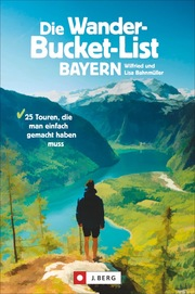 Die Wander-Bucket-List Bayern - Cover