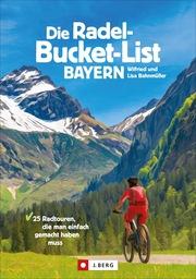 Die Radel-Bucket-List Bayern - Cover