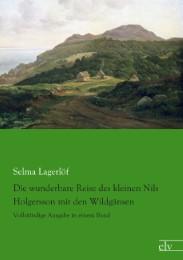 Die wunderbare Reise des kleinen Nils Holgersson mit den Wildgänsen - Cover
