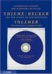 Allgemeines Lexikon der bildenden Künstler Thieme/Becker/Vollmer
