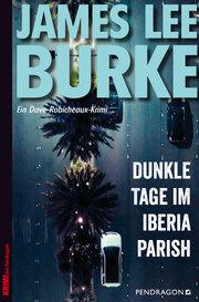 Dunkle Tage im Iberia Parish - Cover