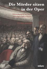 'Die Mörder sitzen in der Oper!' - Cover