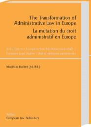 The Transformation of Administrative Law in Europe /La mutation du droit administratif en Europe - Cover