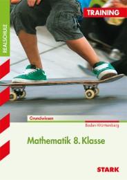 Training Realschule - Mathematik 8. Klasse - BaWü - Cover