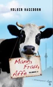 Mann, Frau, Affe - Cover