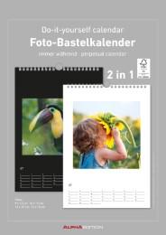 Foto-Bastelkalender - Cover