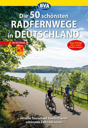 Die 50 schönsten Radfernwege in Deutschland - Cover