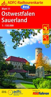 ADFC-Radtourenkarte 11 Ostwestfalen Sauerland 1:150.000, reiß- und wetterfest, GPS-Tracks Download