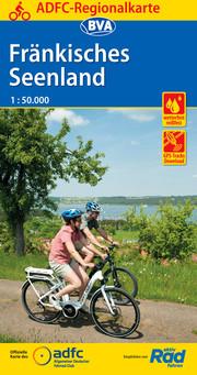ADFC-Regionalkarte Fränkisches Seenland, 1:75.000, reiß- und wetterfest, GPS-Tracks Download