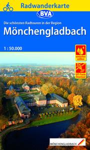 Radwanderkarte BVA Die schönsten Radwanderkarten in der Region Mönchengladbach, 1:50.000, reiß- und wetterfest, GPS-Tracks Download