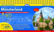 ADFC-Radausflugsführer Münsterland 1:50.000 praktische Spiralbindung, reiß- und wetterfest, GPS-Tracks Download - Cover