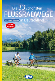 Die 33 schönsten Flussradwege in Deutschland mit GPS-Tracks Download - Cover