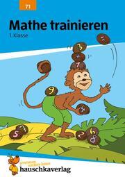 Mathe trainieren 1. Klasse, A5-Heft - Cover