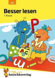Besser lesen 1. Klasse, A5-Heft - Cover