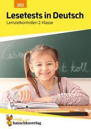 Lesetests in Deutsch - Lernzielkontrollen 2. Klasse, A4-Heft - Cover