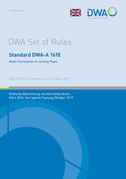 Standard DWA-A 161E Static Calculation of Jacking Pipes