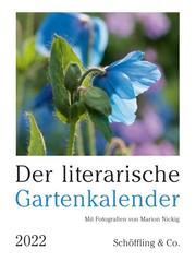 Der literarische Gartenkalender 2022