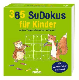 365 Sudokus für Kinder - Cover