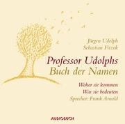 Professor Udolphs Buch der Namen - Cover