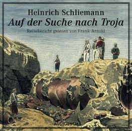 Auf der Suche nach Troja - Cover
