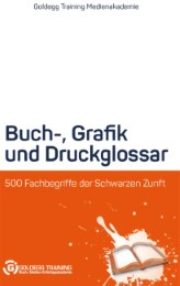 Buch-, Grafik- und Druckglossar - Cover