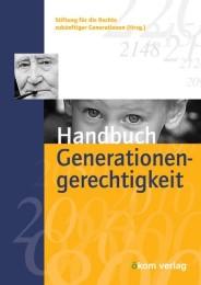 Handbuch der Generationengerechtigkeit
