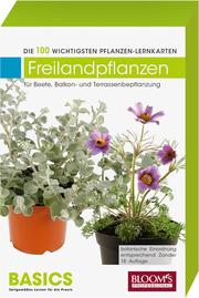 Pflanzen-Lernkarten: Die 100 wichtigsten Freilandpflanzen - Cover