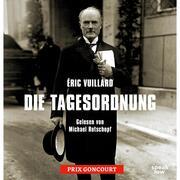 Die Tagesordnung (Ungekürzte Lesung) - Cover