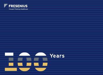 Fresenius 1912-2012 - Cover
