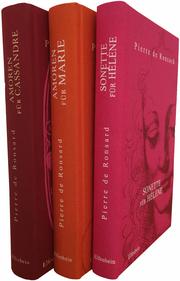 Liebeslyrik in drei Bänden