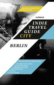 Indie Travel Guide City: Berlin - Cover