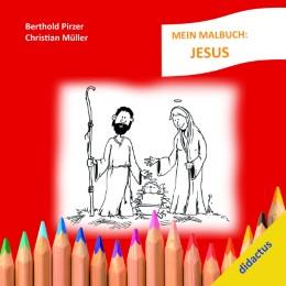 Mein Malbuch: Jesus - Cover