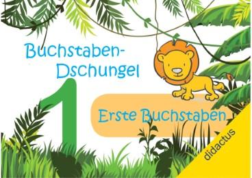 Buchstaben-Dschungel: Erste Buchstaben - Cover