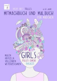 Vicky Bo's tolles Mitmachbuch und Malbuch - Mädchen - Cover