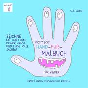 Vicky Bo's Hand-Fuß-Malbuch für Kinder