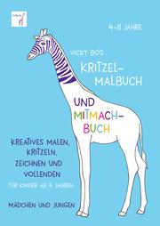 Kritzel-Malbuch und Mitmach-Buch - Cover