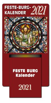 Feste-Burg-Abreißkalender 2021 - Cover